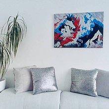 Obrazy - Abstraktný obraz na plátne - 10354049_