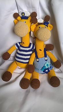 Dekorácie - Žirafí párik - 10353124_