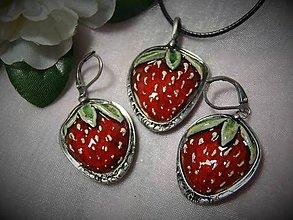 Sady šperkov - keramika ...jahôdka - 10352822_