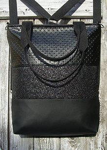 "Batohy - ""backpack 3in1- black variations"" - Batoh & taška cez rameno - 10355186_"