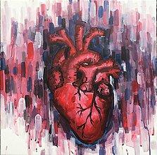 Obrazy - Heart_život - 10356102_