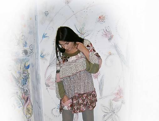 hippie bluzon plus size