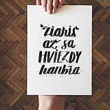 Grafika - Žiariš - typografia - 10355572_