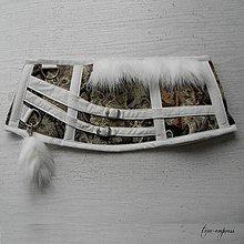 Šaty - Steampunk korzet s mačičkami - 10358956_