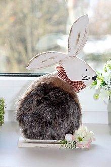 Dekorácie - Veľkonočný zajac - 10356119_