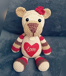 Hračky - Love Teddy - 10356104_