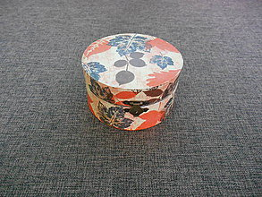Krabičky - drevenná šperkovnička - dekupáž - jesenné listy - 10357176_
