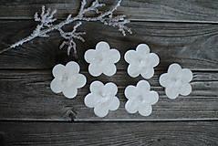 Svietidlá a sviečky - Plávajúce kvetinky - 10358241_