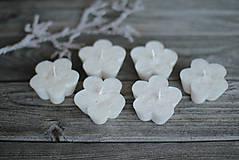 Svietidlá a sviečky - Plávajúce kvetinky - 10358243_