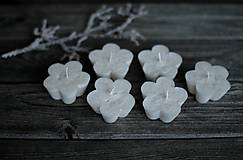 Svietidlá a sviečky - Plávajúce kvetinky - 10358246_