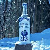 Iné - Darčeková fľaša Domáca pre Teba - 10357036_