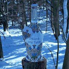 Nádoby - Darčeková fľaša Pálená pre Teba - 10356864_