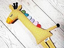 - Šitá hračka Žirafa - Elza - 10358218_