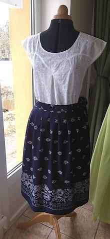 Sukne - Zavinovacia sukňa - 10358277_