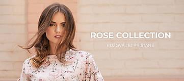 Topy - Top s kvetinovou potlačou ROSE COLLECTION - 10358568_