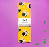 Voskovaný obrúsok - Včielky