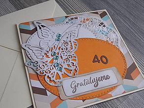 Papiernictvo - ...pohľadnica narodeninová... - 10358594_
