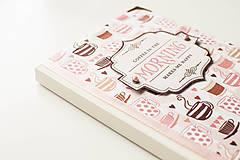 """Papiernictvo - Linajkový zápisník """"Morning Coffee"""" - 10357019_"""