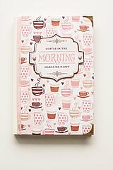 """Papiernictvo - Linajkový zápisník """"Morning Coffee"""" - 10357021_"""