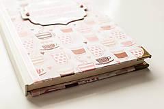 """Papiernictvo - Linajkový zápisník """"Morning Coffee"""" - 10357022_"""