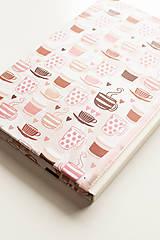 """Papiernictvo - Linajkový zápisník """"Morning Coffee"""" - 10357023_"""