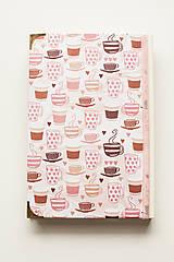 """Papiernictvo - Linajkový zápisník """"Morning Coffee"""" - 10357024_"""