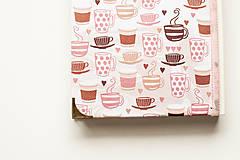 """Papiernictvo - Linajkový zápisník """"Morning Coffee"""" - 10357028_"""