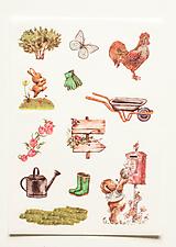 """Papier - Nálepky """" Garden """" - 10357118_"""