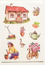 """Papier - Nálepky """" Garden """" - 10357125_"""