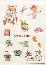 """Papier - Nálepky """" Garden """" - 10357126_"""