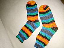 Iné oblečenie - melirované ponožky - 10357626_