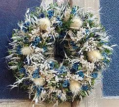 Dekorácie - Rusalčin modručký - 10360017_