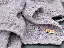 Textil - Detská deka AKO VÁNOK: fialový melír - 10360350_