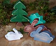 Drevené hračky - Rodinka Pána Zajaca