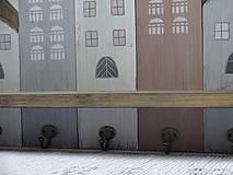Nábytok - Domčekový vešiak - 10360290_