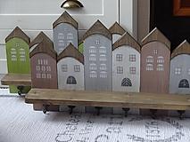 Nábytok - Domčekový vešiak - 10360292_