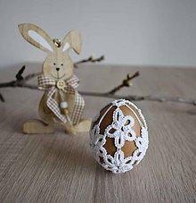 Dekorácie - Veľkonočné vajíčko F4 - 10361911_