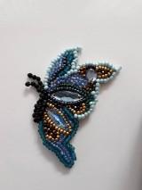 Odznaky/Brošne - Brošnička motýl - 10359855_