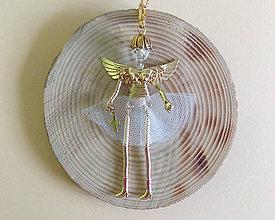 Náhrdelníky - Náhrdelník bábika (Bábika anjel) - 10361420_