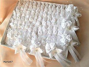 Pierka - Svadobné pierka pre hostí - 10360059_