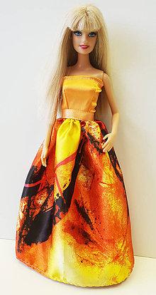 Hračky - Farebné spoločenské šaty pre Barbie - 10361846  85562732a5b