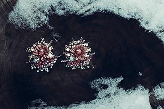 Náušnice - Náušnice Embroidery - 10360037_
