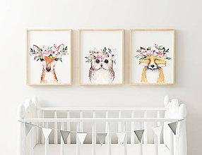 Detské doplnky - sada detských printov - 10360726_
