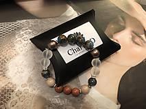 Náramky - Náramok Cloisonne s perlami Swarovski / Cloisonne Bracelet with Swarovski pearls - 10359113_