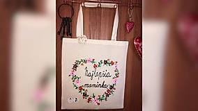 Nákupné tašky - ♥ Plátená, ručne maľovaná taška ♥ (MI7) - 10361021_