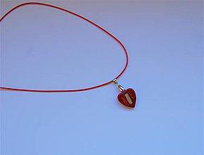 Náhrdelníky - Drevený náhrdelnik - Little Beauty - 10360951_