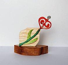 Dekorácie - Dekorácia z dreva - Keď láska kvitne....:o) - 10361154_