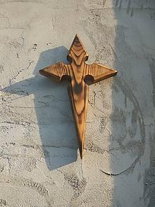 Dekorácie - Kríž -Hviezda jedného stromu- - 10359579_