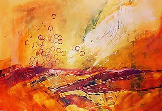 Obrazy - Bubbles above the field - 10359619_