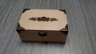 Krabičky - Šperkovnica zdobená laserom - 10361595_